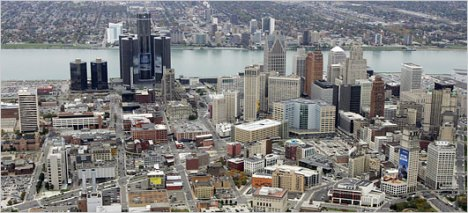 Detroit, de departe