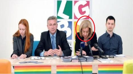 Stella Ronner Grubačić - promotor lgbt